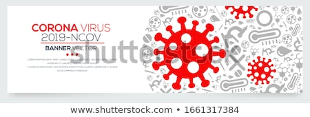Virus corona vector illustration icon Stock photo © Ggs