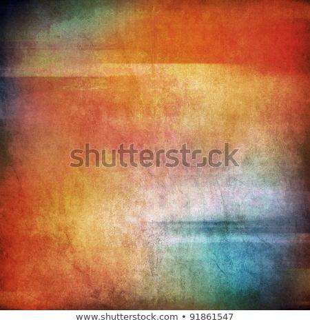 Glasmalerei konkrete rot grünen blau gelb Stock foto © bobkeenan