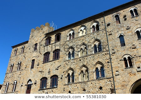Volterra - Medieval pearl of Tuscany Stock photo © wjarek