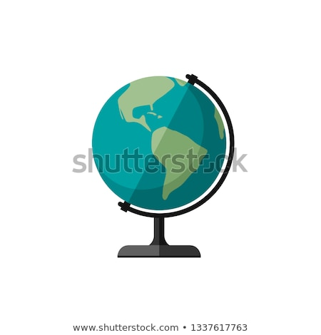 world globes on a pedestals Stock photo © marinini