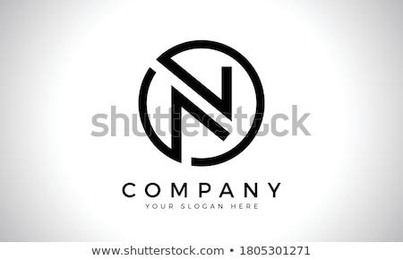 Letter m Geel papier abstract achtergrond Stockfoto © mariephoto