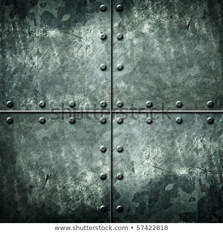 緑 鋼 抽象的な 表示 描いた 多くの ストックフォト © bobkeenan