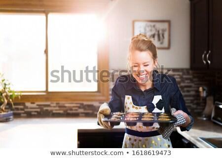 Gelukkig jonge vrouw christmas vrouw Stockfoto © Rob_Stark