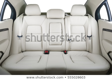car interior, passenger places with leather Stock photo © ozaiachin