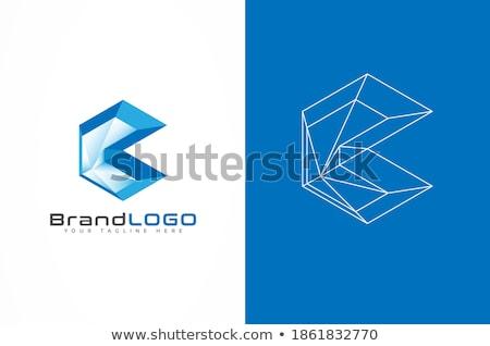 аннотация футуристический 3D синий компьютер строительство Сток-фото © prokhorov