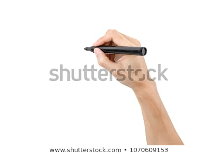 hand with marker stock photo © pakhnyushchyy