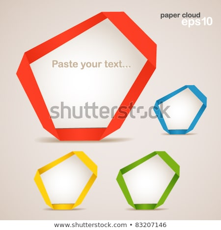 Abstract web design with place for your text Stock photo © milada