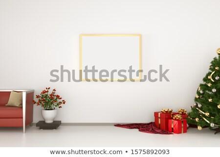 christmas pillow pin up Stock photo © carlodapino