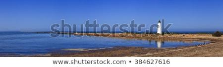longa · exposição · foto · pôr · do · sol · azul · onda - foto stock © clearviewstock