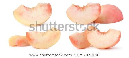 doce · pêssegos · verão · laranja · beber · sobremesa - foto stock © Masha