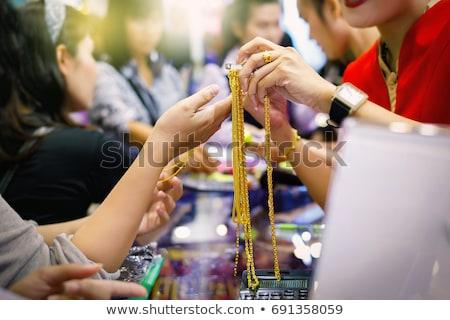recessie · prijs · goud · pijl · business - stockfoto © lightsource
