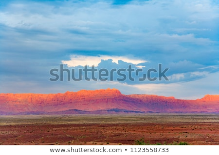 Eco tramonto Grand Canyon spettacolare Foto d'archivio © meinzahn