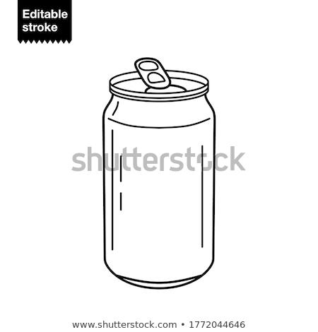 tin can with opener Stock photo © Grazvydas