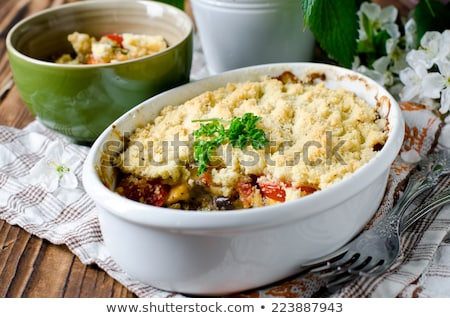 vegetable crumble Stock photo © M-studio