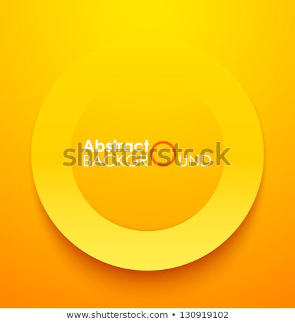 abstract backdrop circle ellipse shape orange  Stock photo © Melvin07