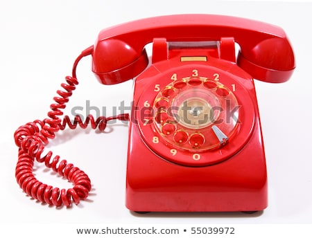 Classic 1970 - 1980 retro dial style telephones Stock photo © pxhidalgo