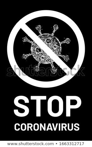 grunge global warning sign Stock photo © burakowski
