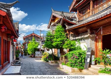 China barrio antiguo calles edificios mundo patrimonio Foto stock © weltreisendertj