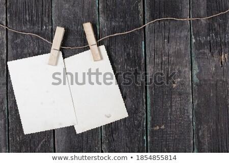 Due immediato foto legno amore legno Foto d'archivio © karandaev