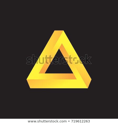 Background with Pen rose triangles Stock photo © shawlinmohd