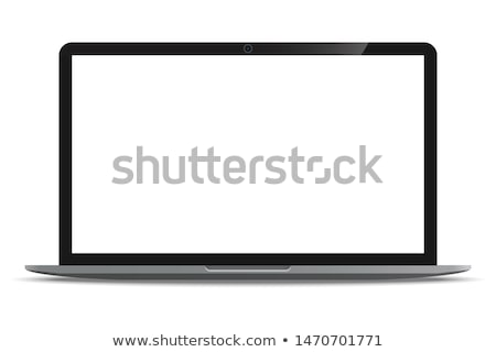 Breedbeeld collectie Rood auto zwarte Stockfoto © cla78