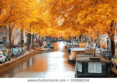 Autumn Waterway Stock photo © rghenry