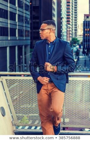 Innocent Male Model Stock photo © vanessavr