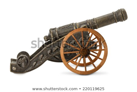 Cannon isolated on white Stock photo © Yongkiet