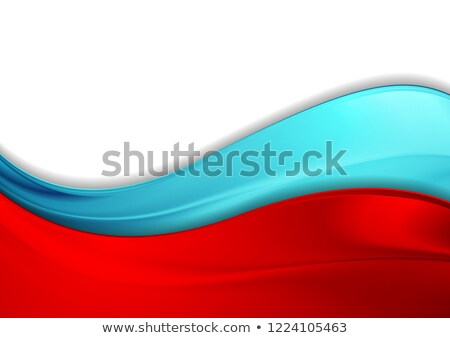 red curve banner stock photo © tang90246