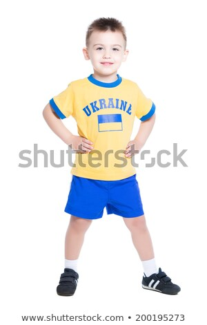 nice little ukrainian footballer stock photo © acidgrey