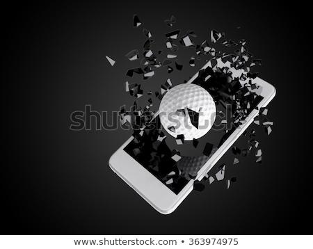 Golf dışarı spor teknoloji Stok fotoğraf © teerawit