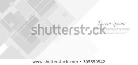 Geometric creative tech background. EPS 8 Stock photo © beholdereye
