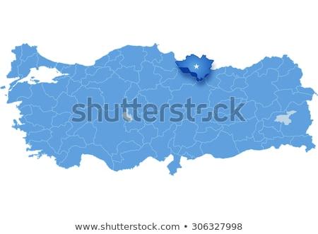 Map of Turkey, Ordu Stock photo © Istanbul2009