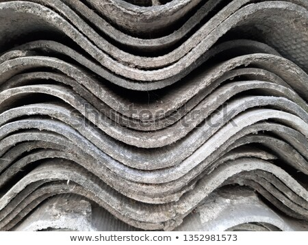 slate stone roof tiles perspective selective focus stock photo © lunamarina