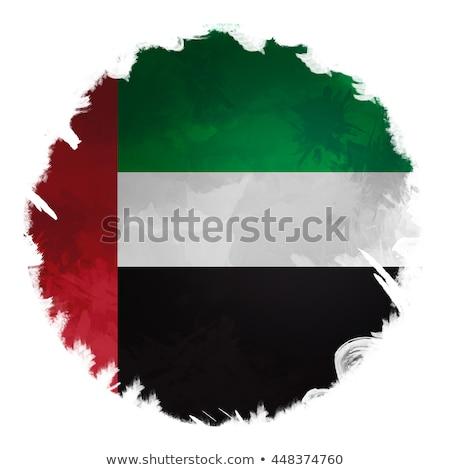 Egyesült Arab Emírségek Liechtenstein zászlók puzzle izolált fehér Stock fotó © Istanbul2009
