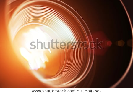 マクロ 表示 レンズ オープン アパーチャ ストックフォト © koldunov