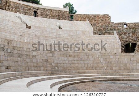 ancient roman theater in Sagunto, Spain Stock photo © nito