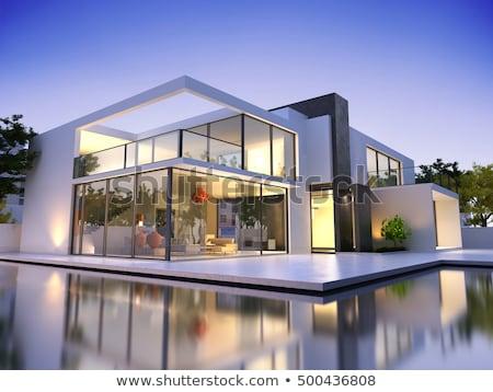 casa · apartamento · nova · casa · arquitetura · estoque - foto stock © luissantos84