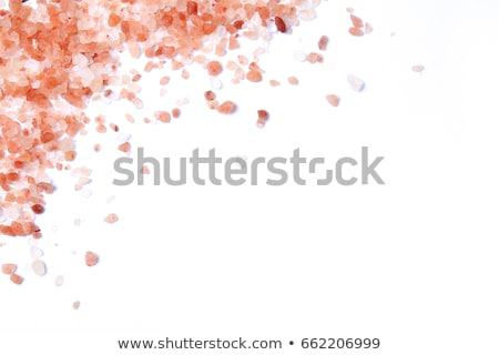 white and pink salt Stock photo © Lana_M