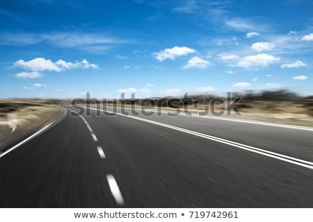 Emtpy highway Stock photo © Hofmeester