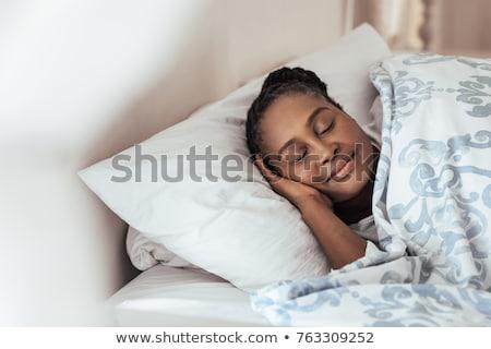 mujer · caída · contra · jóvenes · procedimiento · médico - foto stock © rastudio