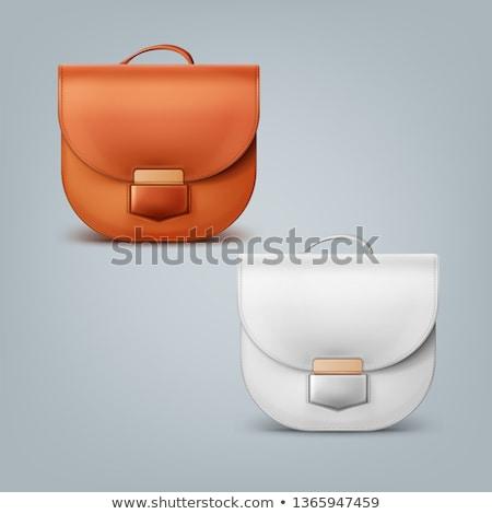 フロント · エレガントな · グレー · 女性 · クラッチ · 袋 - ストックフォト © Cipariss