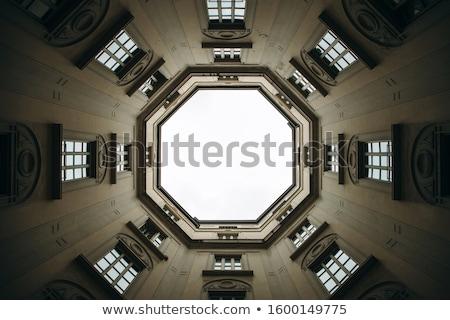 Edifício moderno milan Itália construção projeto vidro Foto stock © boggy