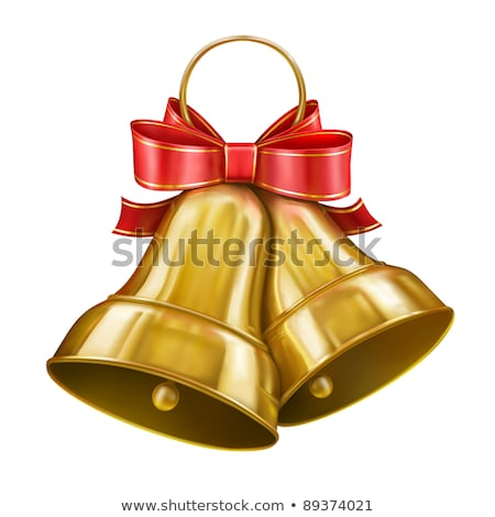 Merry Christmas Jingle Bells and Best Wishes Holly Stock photo © robuart