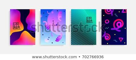 現代 活気のある 抽象的な 勾配 スタイル 背景 ストックフォト © SArts