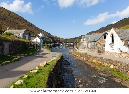 Boscastle North Cornwall Stock photo © chris2766
