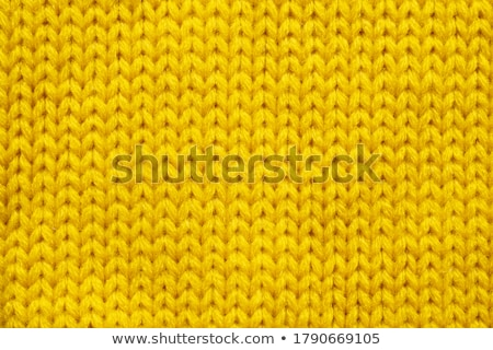 Yellow wool texture Stock photo © homydesign