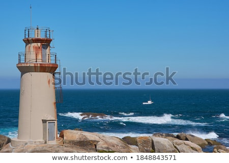 Way to the lighthouse Stock photo © smithore