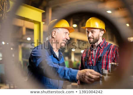 foreman and apprentice stock photo © photography33