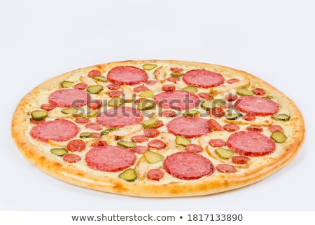 sliced sausage with vegetables Stock photo © shutswis
